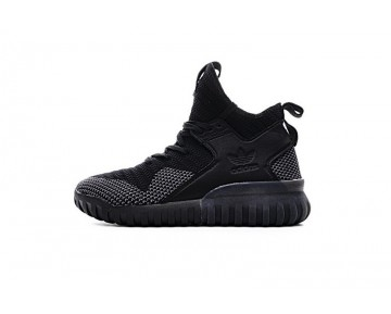 Adidas Originals Tubular X Primeknit S80132 Herren Schwarz & Weiß Schuhe