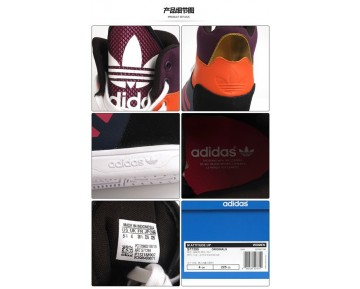Adidas Originals M Attitude Up S77395 Schuhe Tief Blau & Purple & Gelb Unisex