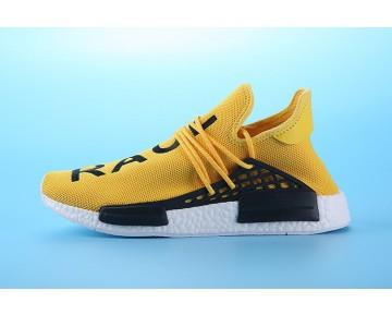 Schuhe Herren Pharrell Williams X Adidas Nmd Human Race S79162 Gelb & Weiß & Schwarz
