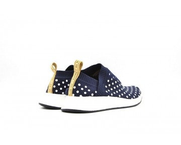 Adidas Nmd City Sock Cs2 Wave Point Ba7211 Tief Blau Unisex Schuhe