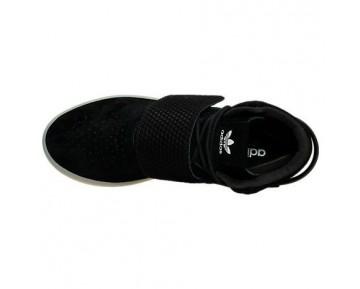 Adidas Tubular Invader Strap Bb5037 Schwarz/Vintage Weiß Schuhe Unisex