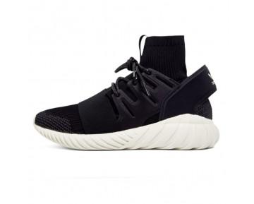 Schwarz & Grau Schuhe Adidas Tubular Doom Primeknit S74921 Unisex