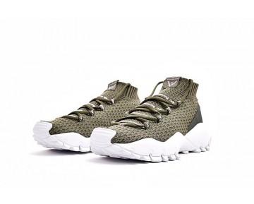 Schuhe Weiß Mountaineering X Adidas Seeulater Primeknit S80531 Olive Gree & Weiß Herren