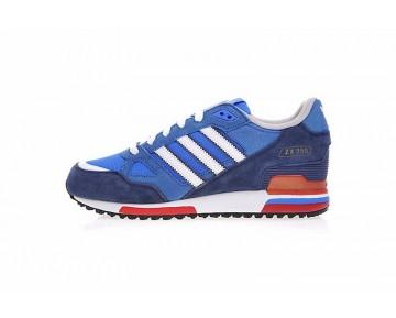 Tief Blau & Weiß & Rot Adidas Originals ZX 750 G96718 Unisex Schuhe
