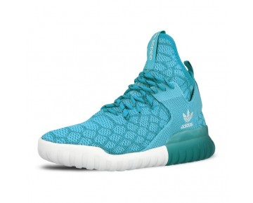 Blau Snake Schuhe Unisex Adidas Tubular X Prime Knit Snake B25592