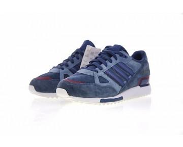 Schuhe Water Blau & Maroon Herren Adidas Originals ZX 750 Q34281