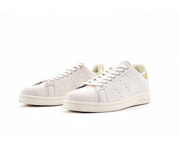 Unisex Adidas Originals Stan Smith Bb2712 Grau & Gold Schuhe