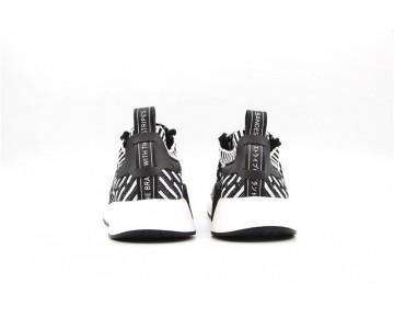 Schuhe Herren Adidas Originals Nmd Primeknit R2 Bb2902 Schwarz & Weiß