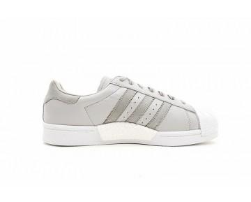 Schuhe Herren Adidas Superstar Boost Ash Grau