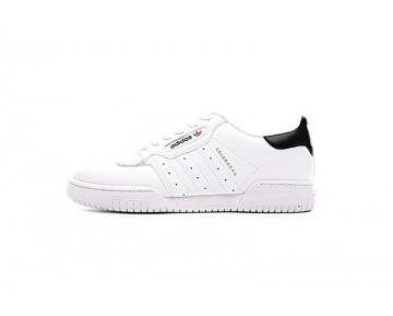 Herren Weiß & Schwarz Schuhe Yeezy X Adidas Originals Powerphase Cq1695
