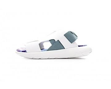 Weiß & Multicolors Ss Y-3 Qasa Elle Stretch Sandal By2573 Unisex
