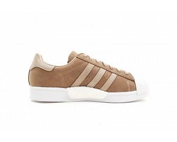 Adidas Superstar Boost Herren Braun Schuhe
