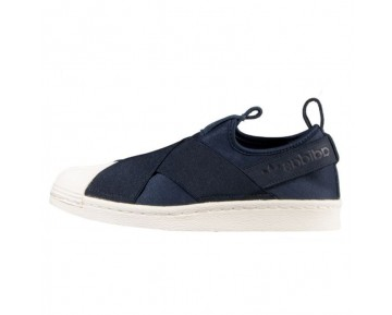 Unisex Adidas Originals Superstar Slip-On W S81341 Ink Blau Schuhe