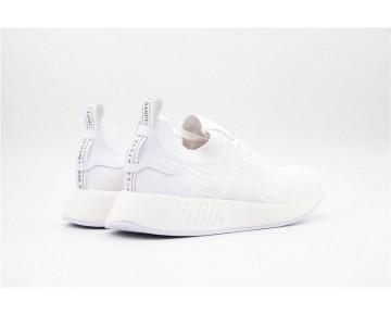 Herren Schuhe Adidas Originals Nmd Primeknit R2 Bb2905 Streak Weiß