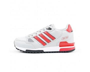 Licht Grau & Rot Adidas S76192 Unisex Schuhe