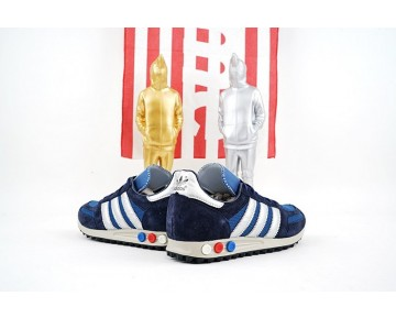 Schuhe Marine Blau & Weiß Herren Adidas Consortium La Trainer Og Aq4930