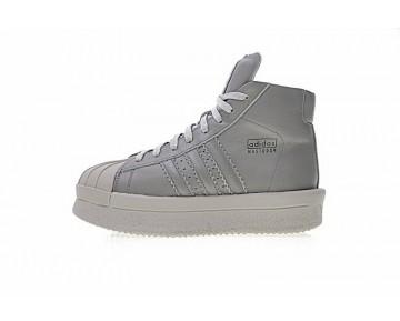 Ash Grau Unisex Adidas X Rick Owens Mastodon Pro Ba9763 Schuhe