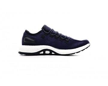 Herren Schuhe Tief Blau & Weiß Adidas Pure Boost Ltd Pure Ba8898