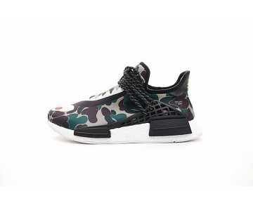 Schuhe Shark Bape X Adidas Hu Nmd Boost Bb0623 Unisex