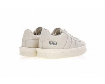 Unisex Milk Weiß Schuhe Adidas X Rick Owens Mastodon Pro Ba9761