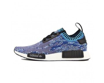 Unisex Schuhe Adidas Nmd_R1 S81541 Brilliantly ColouRot Blau