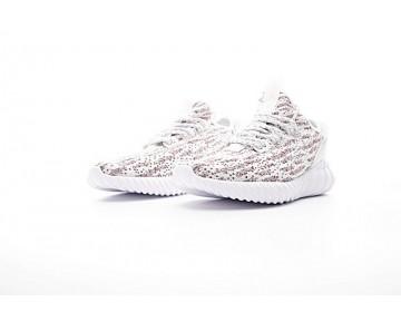 Schuhe Weiß & Rot Adidas Tubular Doom Sock Low S74937 Herren
