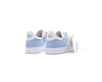 Licht Blau & Weiß Schuhe Adidas Originals Gazelle Bb5486 Damen