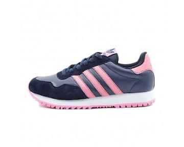 Damen Tief Blau & Rosa Schuhe Adidas Ocis Runner Zx400 D65675