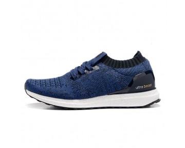 Schuhe Herren Blau & Weiß Adidas Ultra Boost Uncaged Bb4274
