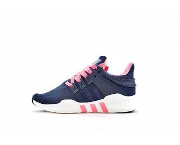 Adidas Eqt Support Adv Primeknit 93 Bb1307 Dunkel Blau & Rosa Schuhe Damen