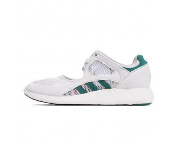 Adidas Equipment Racing 91/16 Trainers Boost S75212 Unisex Weiß & Grün Schuhe
