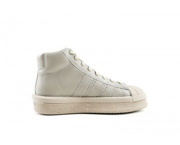 Rick Owens X Adidas Mastodon Pro Model Ro Ba9765 Schuhe Unisex Pearl Grau