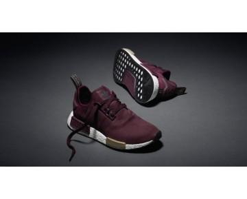 Schuhe Unisex Maroon Adidas Nmd_R1 Runner Suede W S75231
