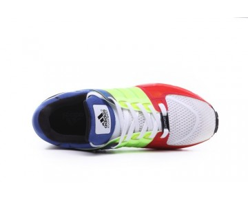 Unisex Adidas Eqt Running Support 93 Color Blocking S81483 Schuhe Rot & Grün & Blau