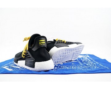 Pharrell Williams X Adidas Originals Nmd Human Race Bb3068 Unisex Schuhe Schwarz
