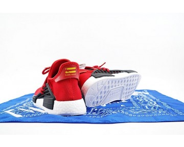Unisex Rot Schuhe Pharrell Williams X Adidas Originals Nmd Human Race Bb0616