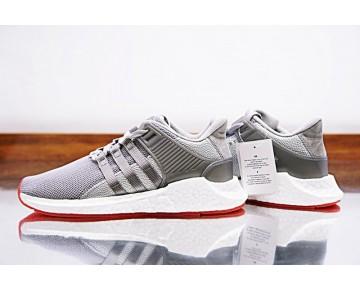 Silber & Rot & Weiß Schuhe Unisex Adidas Eqt Support Future Boost 93/17 Cq2393