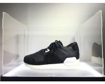 Unisex Adidas Originals Zx700 RemasteRot Ck Leather S82520 Schwarz Leatehr Schuhe