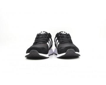 Herren Schwarz & Weiß Adidas Zx 450 S63891 Schuhe