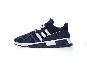 Herren Adidas Eqt Cushion Adv By9508 Schuhe Tief Blau & Weiß