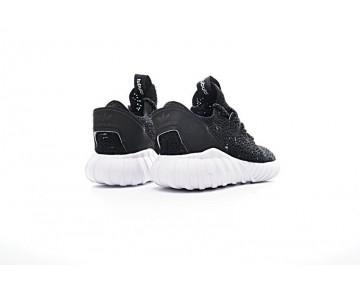 Herren Schuhe Adidas Tubular Doom Sock Low S74921 Schwarz & Weiß