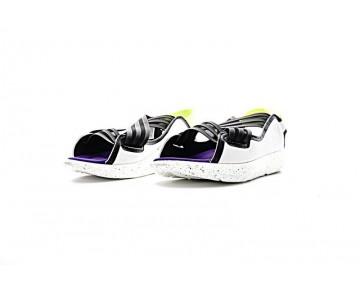 Weiß & Schwarz & Purple Unisex Ss Y-3 Qasa Elle Sandal Aq5457