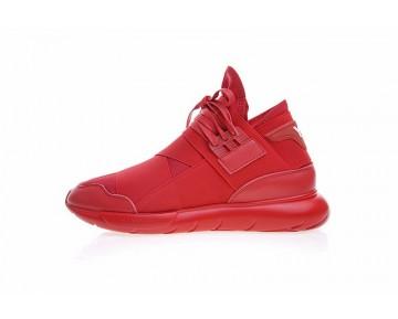 Unisex Rot Schuhe Y-3 Qasa High B88918