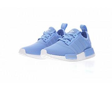 Adidas Nmd R_1 W Boost Ba7744 Licht Blau & Weiß Schuhe Damen