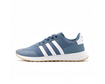 Herren Adidas Originals Flashback Breathable Sneakers S78625 Schuhe Water Blau