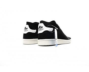 Schwarz & Weiß Unisex Adidas Originals Stan Smith Sock Primeknit By9253 Schuhe
