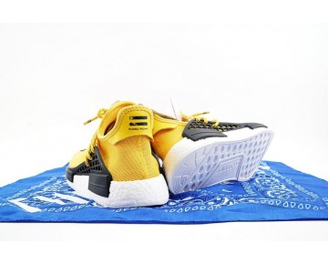 Unisex Pharrell Williams X Adidas Originals Nmd Human Race Bb0619 Schuhe Gelb