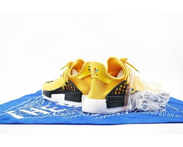Unisex Pharrell Williams X Adidas Originals Nmd Human Race Bb0619 Schuhe Gelb