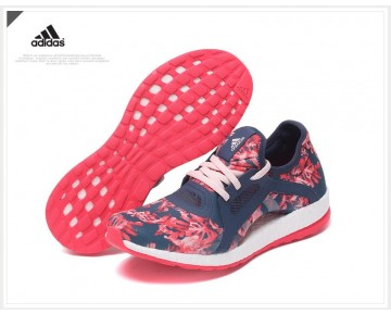 Flower Tief Blau Schuhe Adidas Pure Boost X Aq6682 Damen