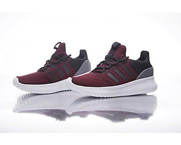 Schuhe Unisex Burgund Rot Adidas Neo Cloudfoam Ultimate Neo Bc0054